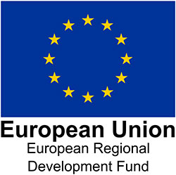 Logo of European Regional Development Funding
